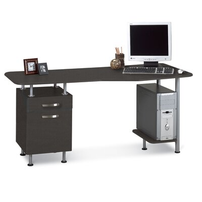 Mayline Group Eastwinds Computer Desk with Pedestal