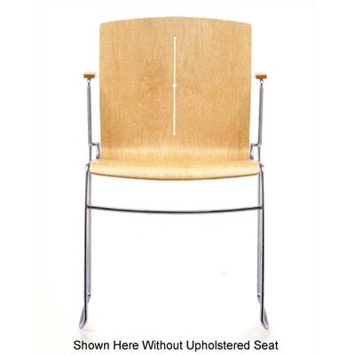 Source Seating Zag Stacking Chair (Arc with Line and Seat Pad)