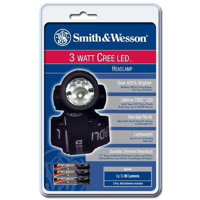 Smith & Wesson LED Headlamp