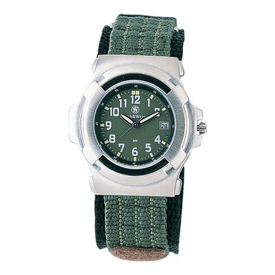 Smith & Wesson Lawman Men's Round Face Watch