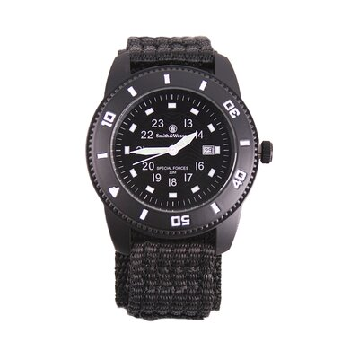 Smith & Wesson Commando Men's Round Face Watch