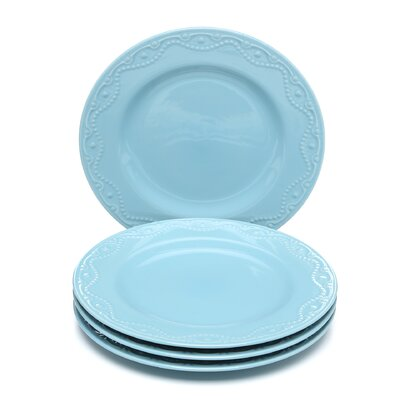 Paula Deen Dinnerware Whitaker Dinner Plate (Set of 4)