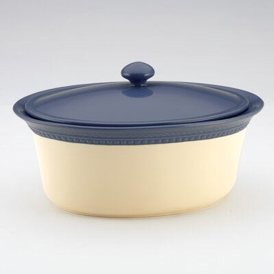 Signature Southern Gathering 3.5-Qt. Oval Casserole with Lid