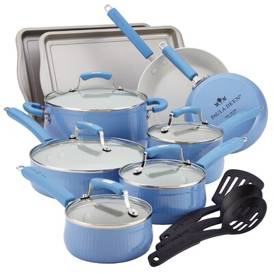 Paula Deen Savannah 17-Piece Cookware Set
