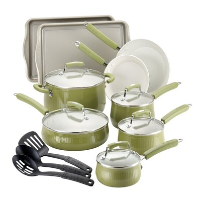 Savannah 17-Piece Cookware Set with Bakeware
