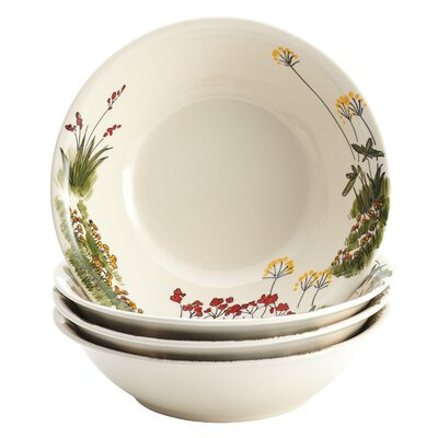 Paula Deen Southern Rooster 4 Piece Soup and Pasta Bowl Set
