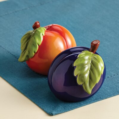 Paula Deen Signature Orchard Harvest Salt and Pepper Shaker Set