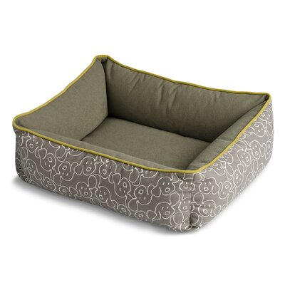 Bumper Style Dog Eared Dog Bed
