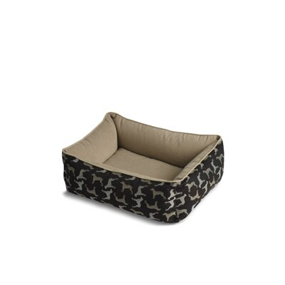 Crypton Bumper Style Rotator Donut Dog Bed