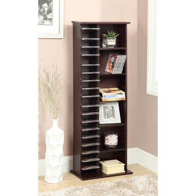 Entertainment CD Multimedia Storage Rack