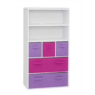 4D Concepts Girl's Storage Bookcase