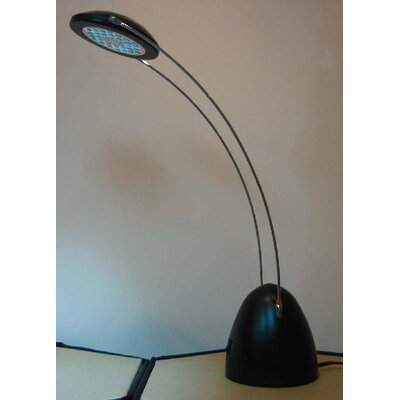 David LED Desk Lamp in Silver