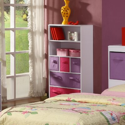 "4D Concepts Girl's Storage 47.3"" Bookcase"