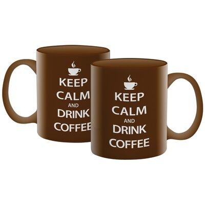 NMR Distribution Keep Calm Coffee Mug