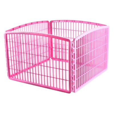 "Iris 23.63"" 4 Panel Indoor/Outdoor Dog Pen"