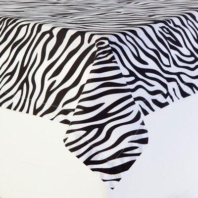 Zebra Cotton Tablecloth