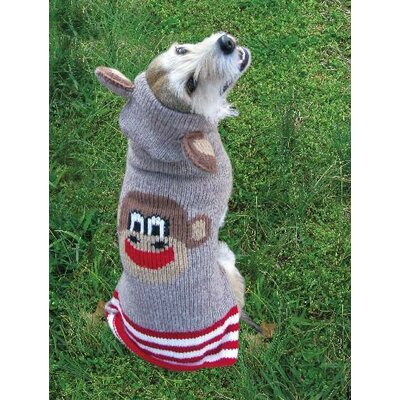 Chilly Dog Monkey Hoodie Dog Sweater