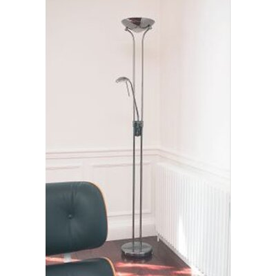 Endon Lighting Rome Floor Lamp in Polished Chrome