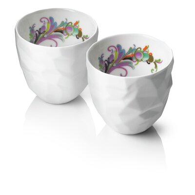 Menu Design by Us Raw Diamonds Thermo Cups (Set of 2)