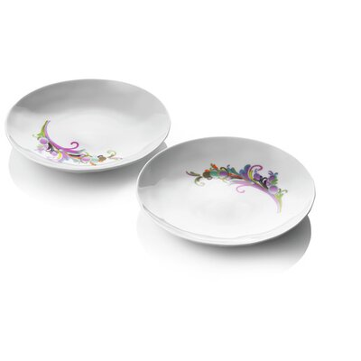 Menu Design by Us Raw Diamonds Side Plates (Set of 2)