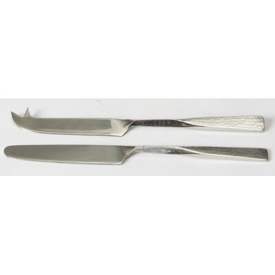 Metal Art Stainless Steel Pate and Cheese Knife