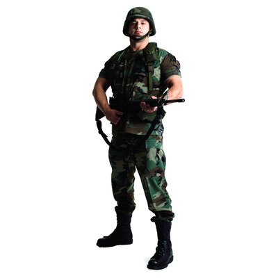 Army Soldier Life-Size Cardboard Stand-Up