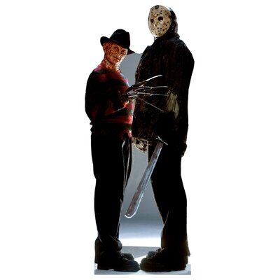 Advanced Graphics Freddy vs. Jason Cutout