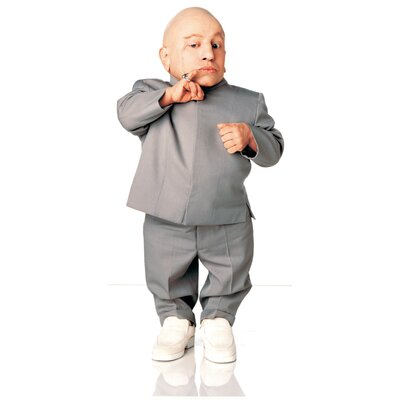 Advanced Graphics Austin Powers - Mini Me Life-Size Cardboard Stand-Up