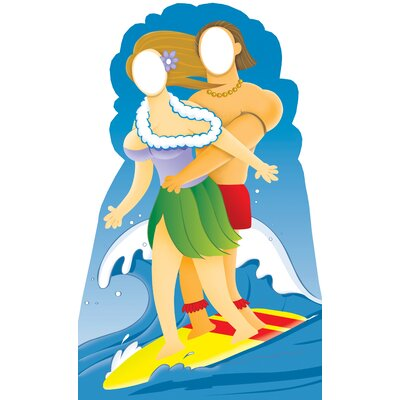 Advanced Graphics Life-Size Stand-Ins Surfer Couple Cardboard Stand-Up