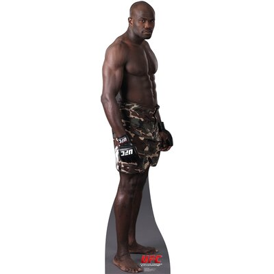 Advanced Graphics Cheick Kongo Cardboard Stand-Up