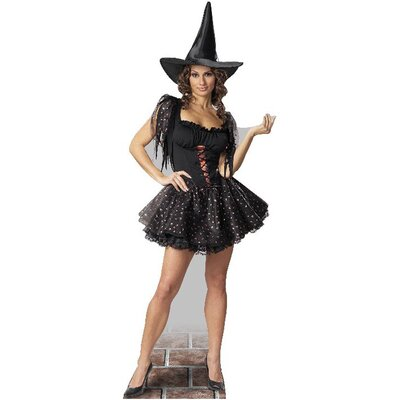 Advanced Graphics Glitter Witch Cardboard Stand-Up