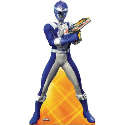 Advanced Graphics Power Ranger Cardboard Stand-Up in Blue