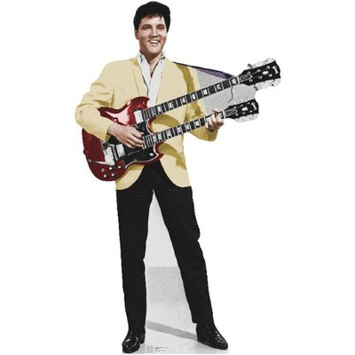 Advanced Graphics Elvis Yellow Jacket Cardboard Stand-Up