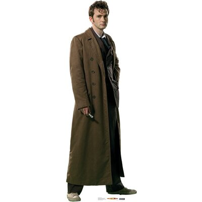 Advanced Graphics Dr. Who - Overcoat Cardboard Stand-Up