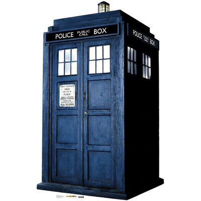 Advanced Graphics The Tardis Cardboard Stand-Up
