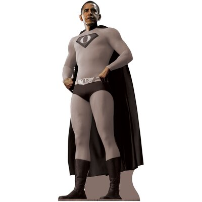 Advanced Graphics Super Obama Cardboard Stand-Up