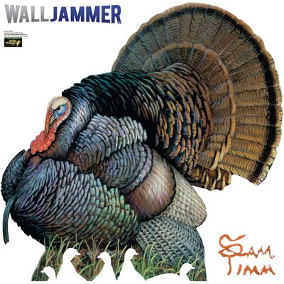 Advanced Graphics Cabela's Mature Wild Turkey Wall Jammer
