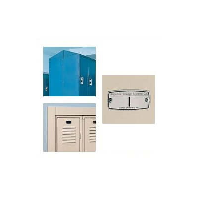 Republic Four-Compartment Wall Hung Locker (Unassembled)