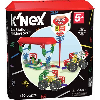 K'NEX Classics Gas Station Building Set