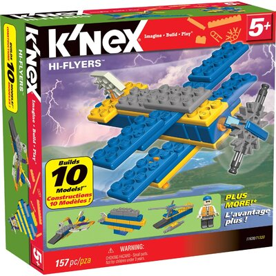 K'NEX Hi-Flyers 10 Model Building Set