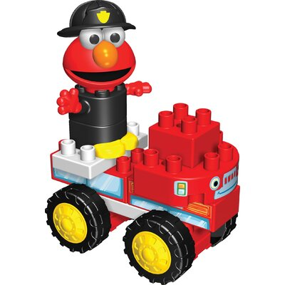 K'NEX Sesame Street Neighborhood Fire Truck Building Set