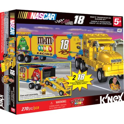 K'NEX M&M Transporter Rig Building Set