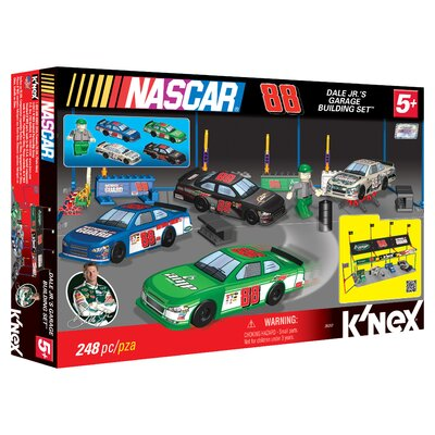 K'NEX Dale Jr.'s Garage Micro-Scale Building Set