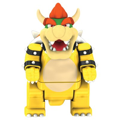 K'NEX Nintendo Bowser and Standard Bike Building Set