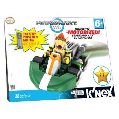 K'NEX Nintendo Bowser's Super Standard Kart Building Set