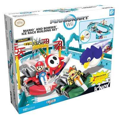 K'NEX Nintendo Mario and Bowser's Ice Race Building Set