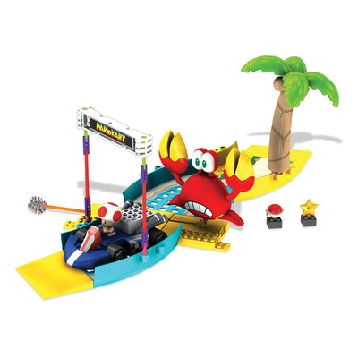 K'NEX Nintendo Toad's Side-Stepper Challenge Building Set