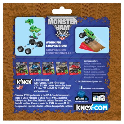 K'NEX Monster Jam Avenger Building Set