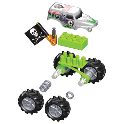 K'NEX Monster Jam Grave Digger Action Pack Building Set