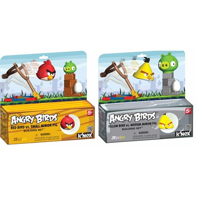 K'NEX Angry Birds Intro Kit 1 Building Set